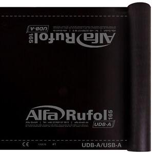 Rufol UDB-A 165 Unterspannbahn Dachbahn hoch diffussionsoffen - 75m² - 170 g/m²