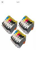 15 Pack Ink Cartridges Compatible for HP 564XL Photosmart 7510 7515 7520