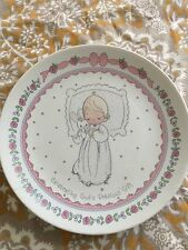Precious Moments Angel Plate