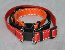 Breakaway (Safety Break away) Reflective Webbing Dog Collar 25mm (30cm - 50cm)