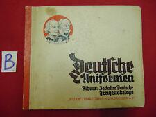 DEUTSCHE UNIFORMEN STURM ZIGARETTEN Sammelbilder-Album Dresden