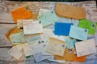 5 Handwritten Letters 1980s to A Prisoner  in Portland, Dorset