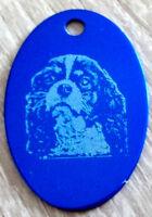 médaille ovale en alu gravure avec portrait de chien de toutes races 5 couleurs