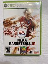 NCAA Basketball 10 (Microsoft Xbox 360, 2009) No Manual