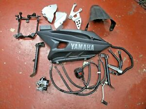 YAMAHA YZF R125 YZF125 YZF125R 2012 JOB LOT OF PARTS ALL WHAT IS IN THE PICTURE