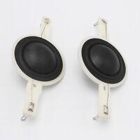 """2pcs 25.4 25.5mm (1"""") silk diaphragm dome Tweeters horn Driver voice coil 8 Ohm"""