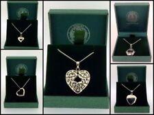 Collares y colgantes de joyería de plata de ley, plata, con amor y corazones