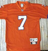 Denver Broncos Throwback Vintage Jersey Mens Large John Elway #7 Orange