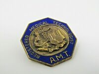 AMT Pin Registered Medical Technologist Vintage Collectible