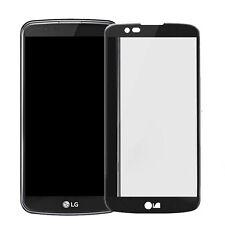 "Pellicola VETRO 3d trasparente Bordo Curvo Nero per LG K10 5.3"" proteggi display"