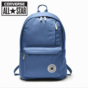 Converse Original Backpack CHUCK TAYLOR ALL STAR School Bag -- Oxygen Blue