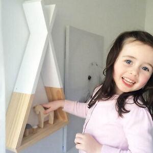 1Pc Storage Rack Living Room Wooden Triangle Holder Decor Wall Shelf Practical
