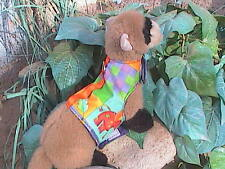 Ferret Harness - Summer Quilt - Med