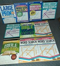 Lot 10 Of Large Crossword Puzzles