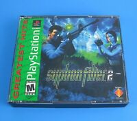 Syphon Filter 2 PS1 2000 Sony PlayStation One PSX Complete CIB Greatest Hits