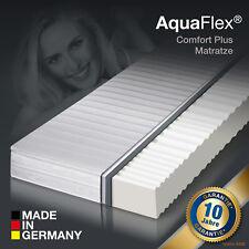 AKTION - 7 Zonen AquaFlex® MemoryLux Comfort Plus Marken Matratze 90x200 H3