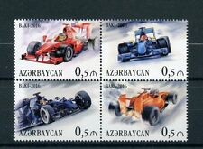 Azerbaijan 2016 MNH Formula 1 Baku Grand Prix of Europa 4v Block Cars Stamps