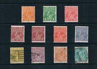 Australia - 1926-30 KGV to 1sh/4d - Complete - SC 66-76 [SG 94-104] MINT/USED 21