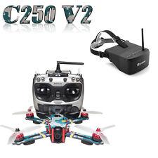 ARRIS C250 V2 250mm RC Quadcopter FPV Racing Drone RTF w/ Eachine EV800 Goggle