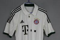 BAYERN MUNICH GERMANY 2013/2014 AWAY FOOTBALL SHIRT JERSEY TRIKOT SIZE S ADIDAS