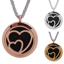 Diffuser Locket Pendant Aromatherapy Essential Oil Perfume Pendant Necklace