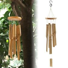 Bamboo Wind Chimes Church Bell Natural Hanging Crafts Home Kids Room Decoration