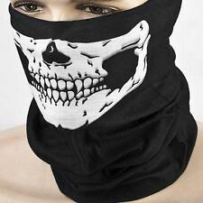 1x Fancy Dress Head Scarf Skull Face Mask Biker Magic Turban Headband Costume N7