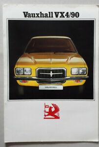 Vauxhall VX 4/90 Brochure 1973