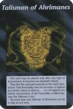 ILLUMINATI NEW WORLD ORDER CARD TALISMAN OF AHRIMANES