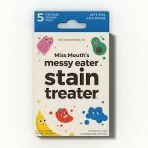 Miss Mouth's Messy Eater Stain Treater Wipe - 5 Wipes Box