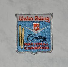 Century Boat water ski patch – Nat Champ