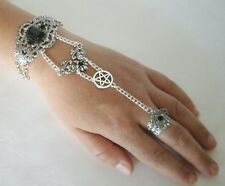 Pentacle Slave Bracelet wiccan pagan wicca witch pentagram witchcraft hand chain