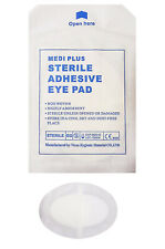 Medi Plus Adhesive Oval-Shaped Eye Pad Protection IFAK EMT EMS First Aid