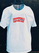 Authentic Supreme x Comme Des Garcons CDG Box Logo Tee T-Shirt White