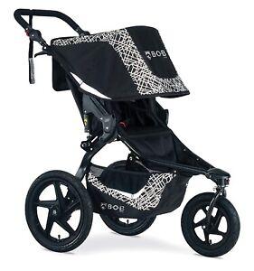 BOB Revolution Flex 3.0 Jogging Stroller Swivel Front Wheel Baby Jogger Lunar BL