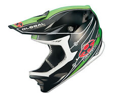Casco descenso Kabuto IXA Composite negro y verde talla XL/XXL, Downhill Helmet