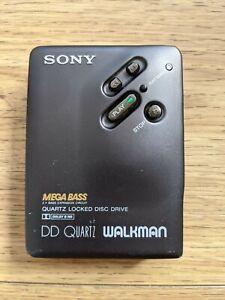 SUPER RARE SONY WALKMAN CASSETTE PLAYER WM-DD33 DD FULL METAL BODY **SEE DESC**