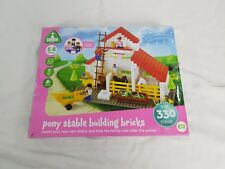 ELC Pony Stable Building Bricks 5-8 Years *FREE UK SHIPPING*
