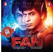 FAN - 2016 HINDI FILM AUDIO CD / SHAHRUKH KHAN / ORIGINAL CD