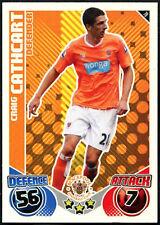 Craig Cathcart #78 Blackpool Topps Match Attax 2010-11 Football Card (C602)