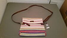 New Element Ethnic Boho Hippie Print Crossbody Bag Purse ~Retail $38.00
