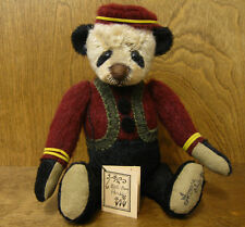 "LORRAINE CHIEN EXCLUSIVE One of a Kind BELLBOY 11"" PANDA, from our Retail Store"
