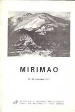 MIRIMAO Guido, Mirimao. Disegni e dipinti (1925-1971)