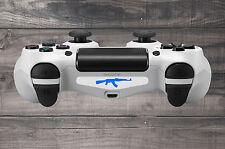 White AK47 Gun Playstation 4 (PS4) Light Bar Decal Sticker | Pack of 3