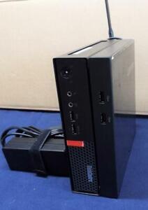 Single Unit Lenovo Thinkcentre m710q Tiny WIFI 8 GB Ram HDD 500 NO OS Loaded