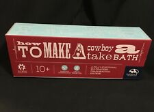 How To Make A Cowboy Take A Bath Educational Construction Activity 10+ Wooden