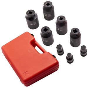 """8 pieces 30mm-36mm socket wrench drive shafts tool kit set 1/2"""" drive New"""