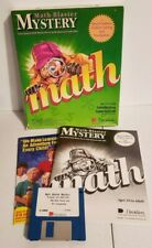 "Math Blaster Mystery Game 1991 IBM PC Tandy DOS 3.5"" In Box Beyond Math Blaster+"