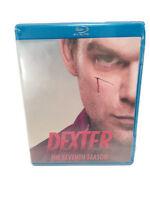 Dexter: The Complete Seventh Season (Blu-ray Disc, 2013, 3-Disc Set) Brand New