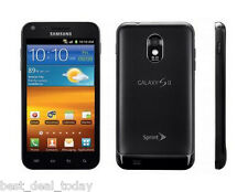 Samsung Galaxy S2 S-2 II SPH-D710 -c 16GB - Black (Sprint) Smartphone Cell Phone